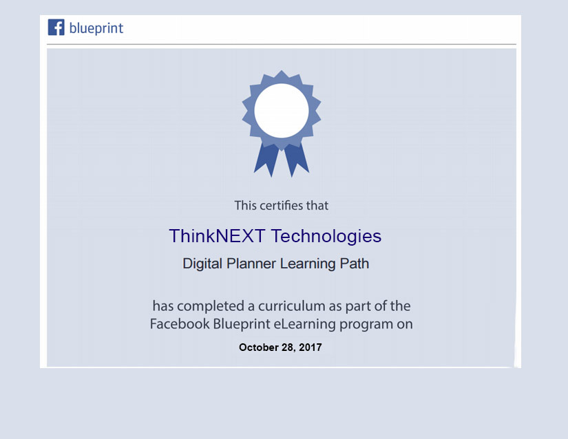 Fb Blueprint Certificate