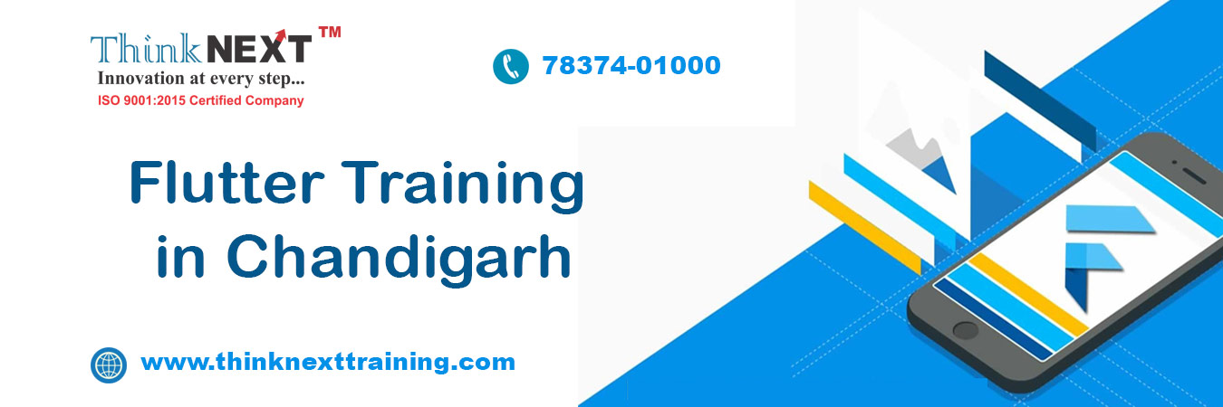 Flutter Training Course in Chandigarh Mohali