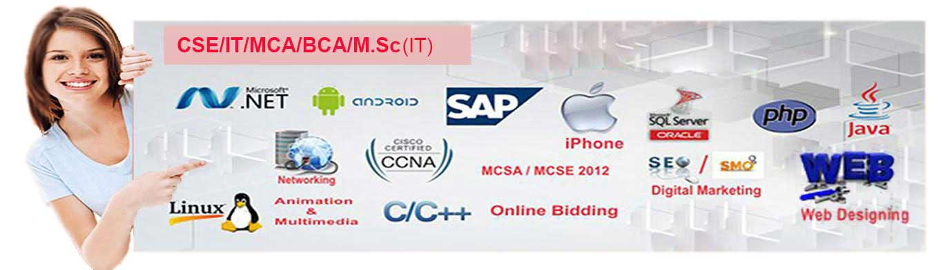 CSE/IT/M.Sc/MCA Courses